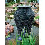 Medium Stacked Slate Urn Fountain 2