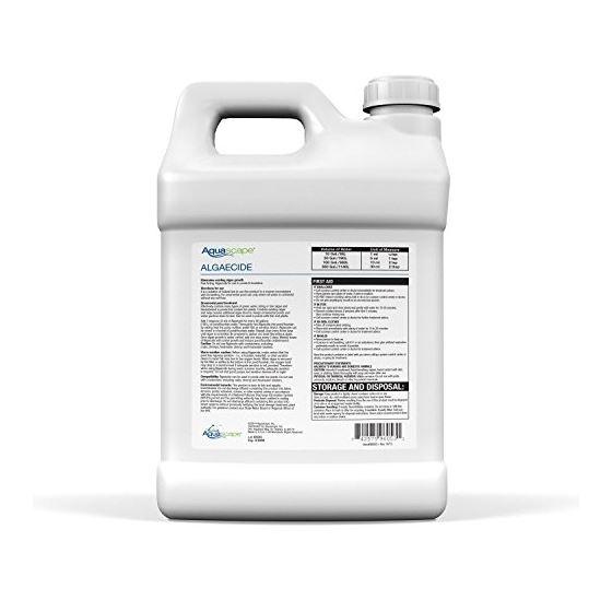 Algaecide Water Treatment  2.5 Gallons  9.45 Lit-2