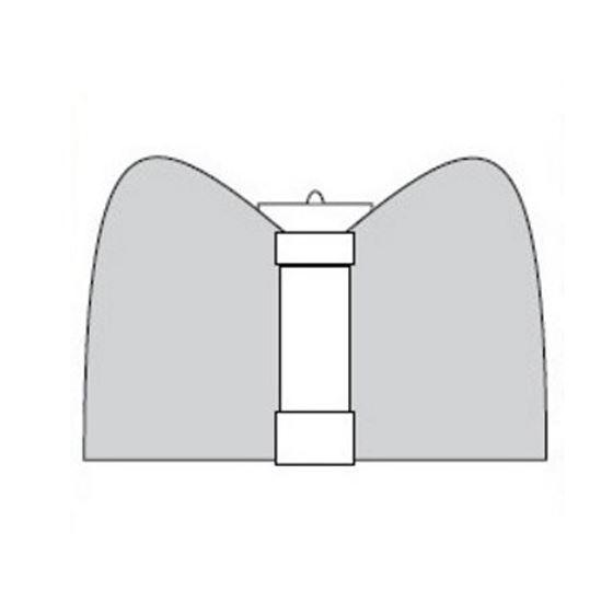 """ProEco N106 1-1/2"""" Flat Lava Fountain Nozzle2"""
