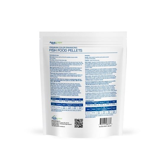 Premium Color Enhancing Fish Food Pellets 500g-1