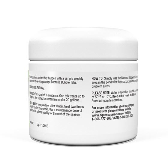 Beneficial Bacteria Bubble Tabs 2