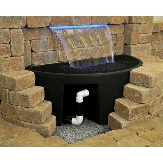 Splash Mat for 24-inch Formal Waterfall Spillway-2