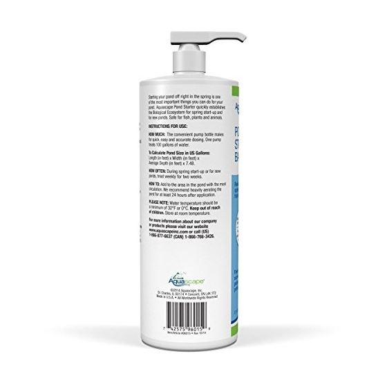 96015 Pond Starter Bacteria Water Treatment For-2