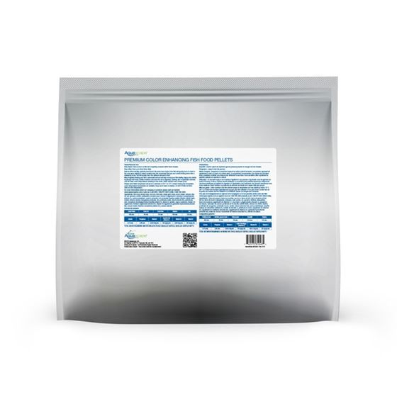 Premium Color Enhancing Fish Food Pellets - 5 kg-2