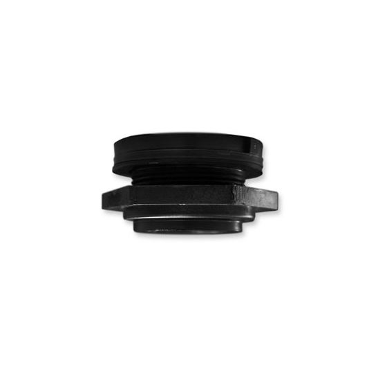 Black Poly Bulk Head Fitting, 2 And-2