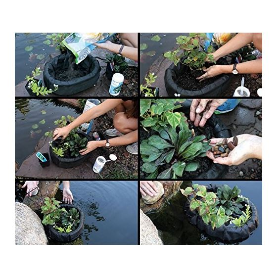 89006 Floating Plant Island For Ponds, Gardens,-2