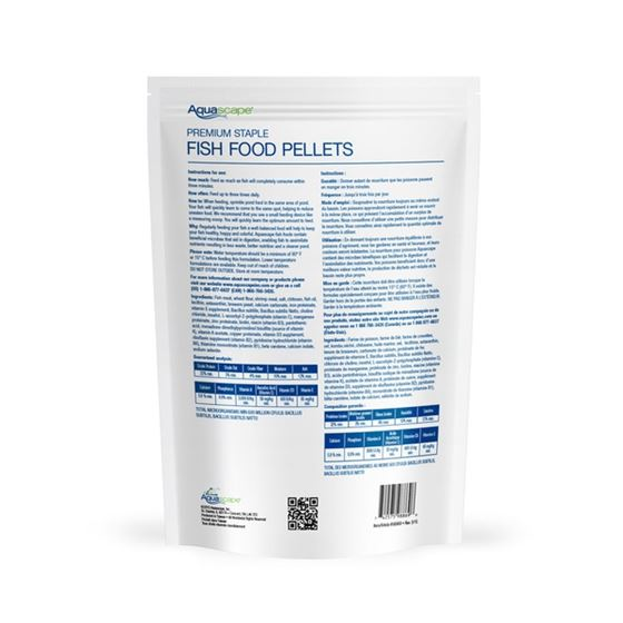 Aquascape Premium Staple Fish Food Pellets 2 kg-2