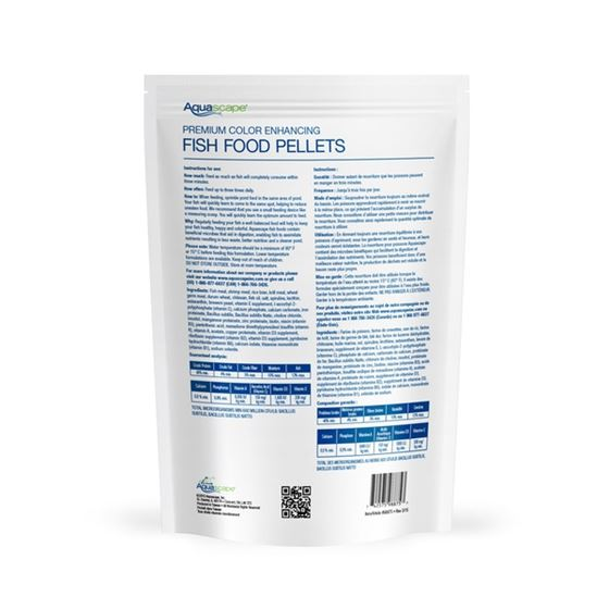 Premium Color Enhancing Fish Food Pellets 2 kg-2