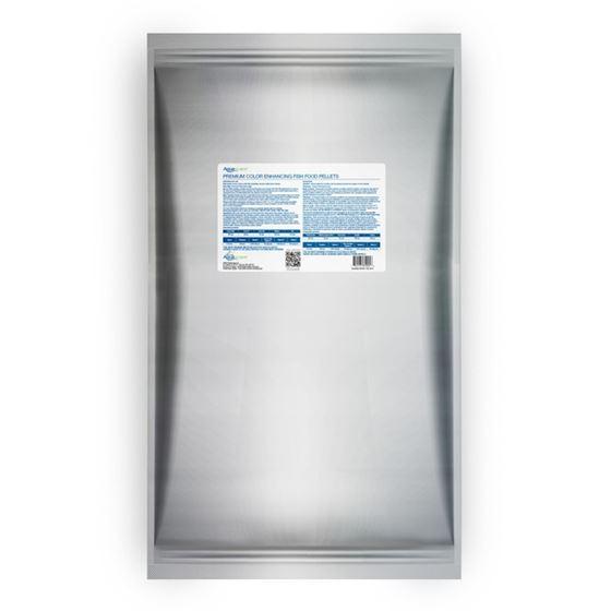 Premium Color Enhancing Fish Food Pellets - 10 kg2