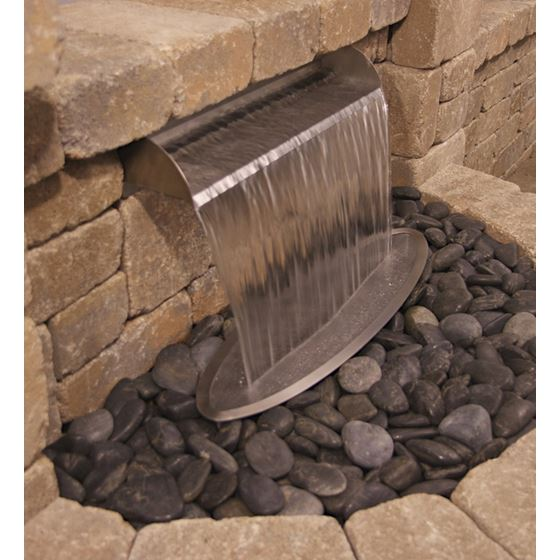 Splash Ring for Formal Waterfall Spillways-2