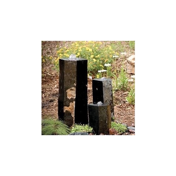 98264 3 Semi-Polished Stone Basalt Columns Sm 12-2