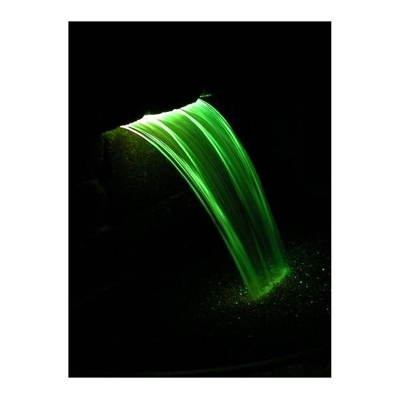 Lighted Waterfall Spillway, 6-Inch Color -2