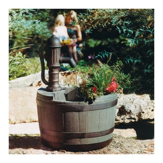 Little Giant 14940294 Whiskey Barrel Planter 2