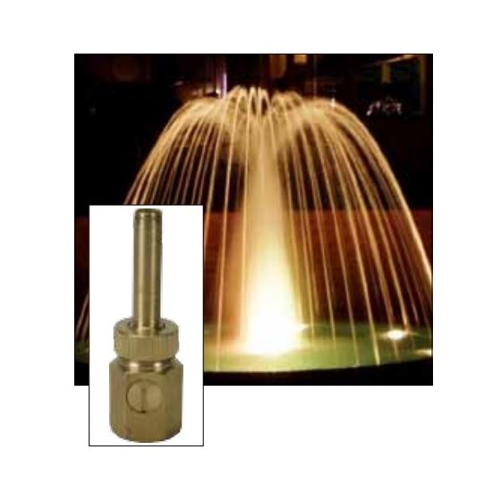 "ProEco N102 3/4"" Comet Fountain Nozzle, Female2"