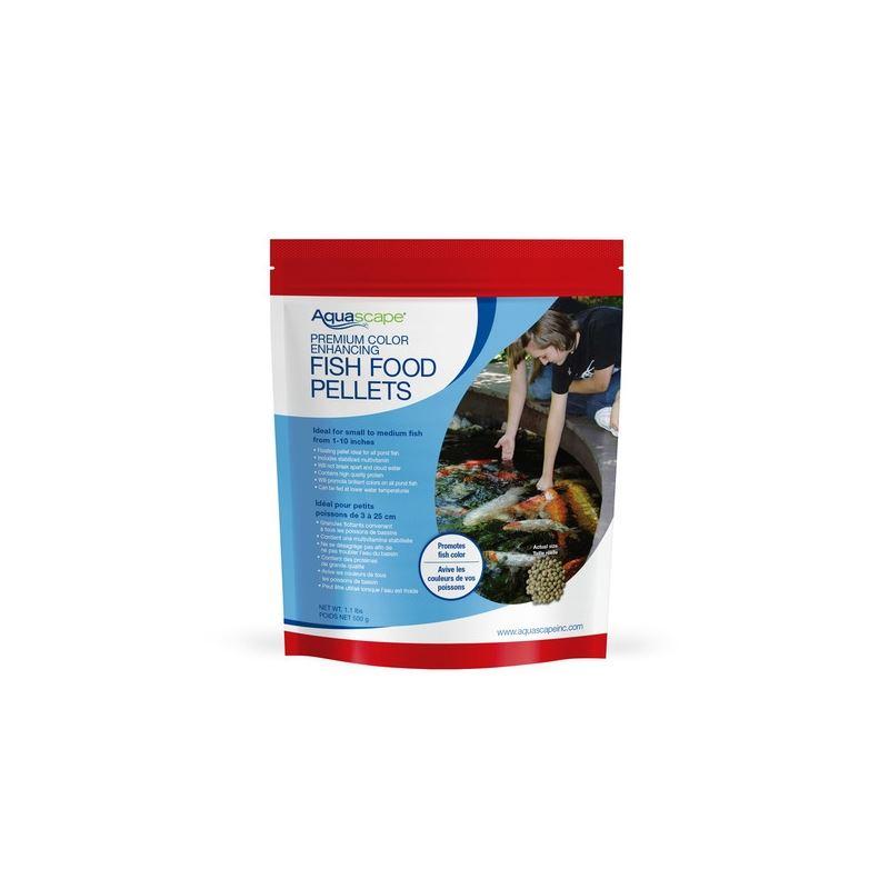 Premium Color Enhancing Fish Food Pellets 500g / 1