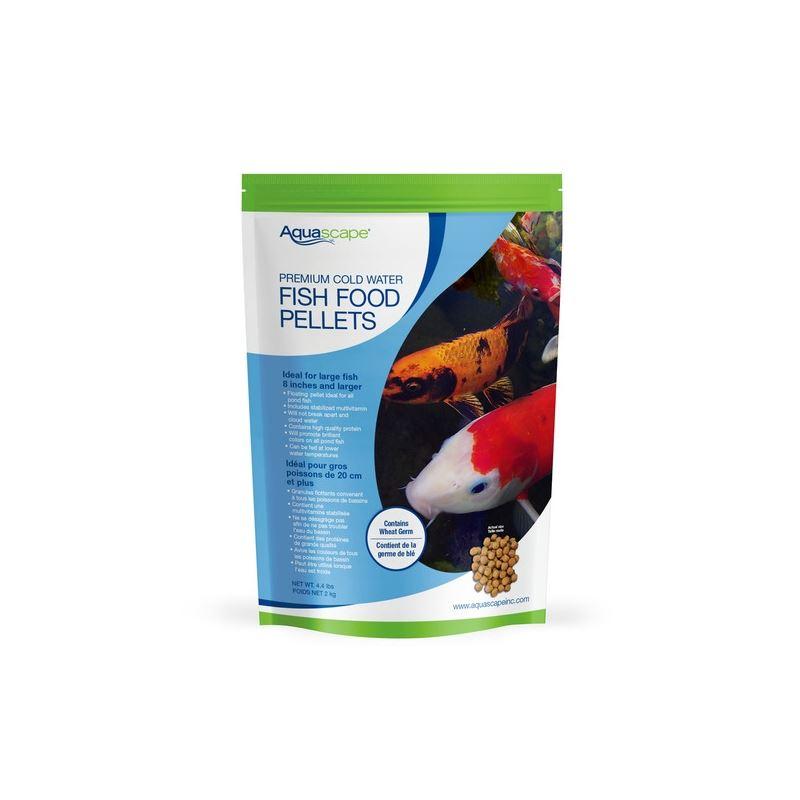 Premium Cold Water Fish Food Pellets 2 kg / 4.4 lb