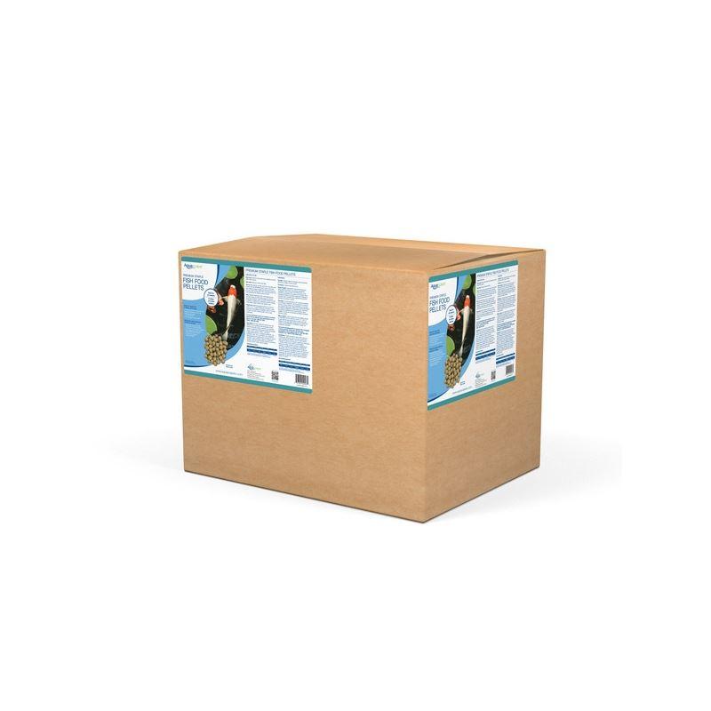 Premium Staple Fish Food Pellets - 20 Kg Bag