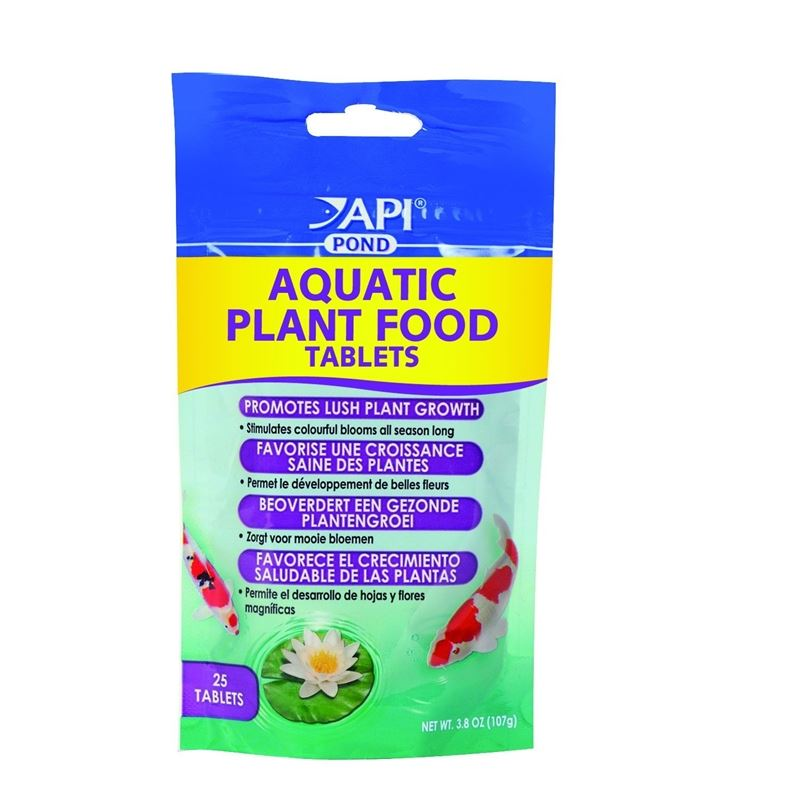 API Pond Care Aquatic Plant Food, 25 Tablets