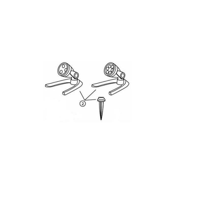 84036 Replacement Mounting Kit for 3-Watt  6-Watt