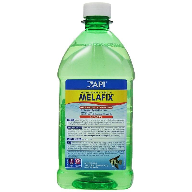 API Melafix Antibacterial Fish Remedy 64oz