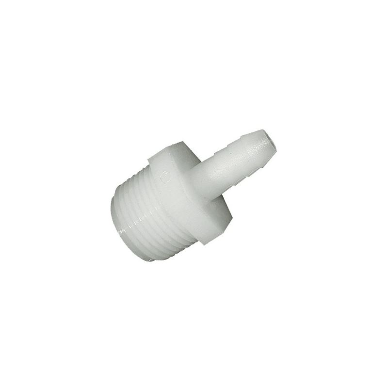 "1 1/4""M x 1""B Straight Insert Adapter"