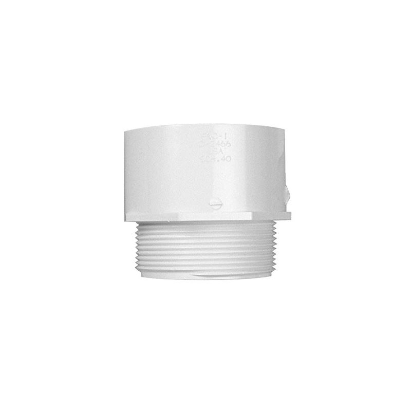 29159 PVC MPT X Slip Fitting 3 And X 3 And For Pon