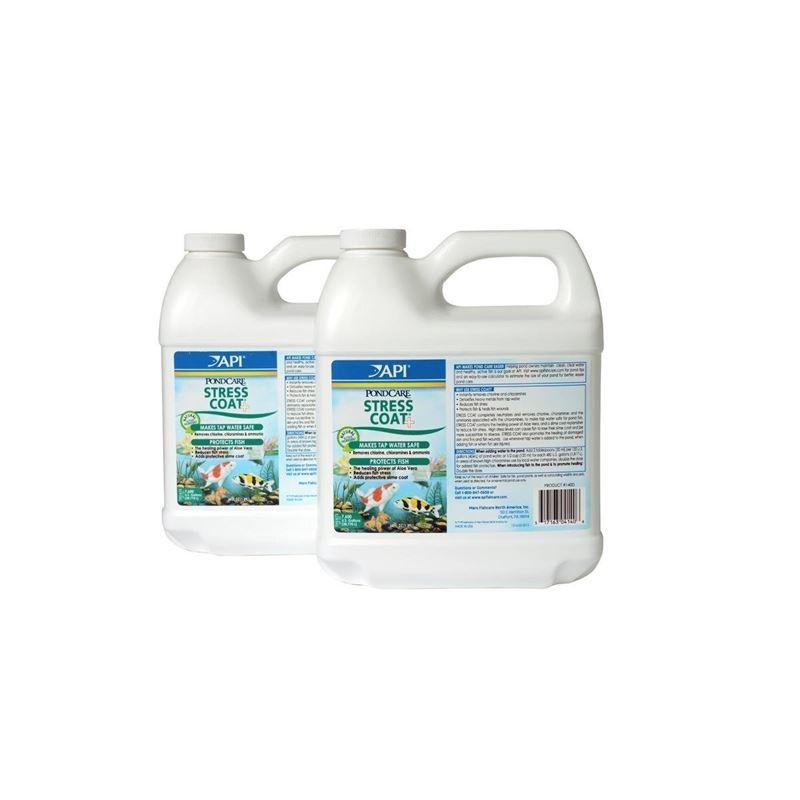 API Pondcare Stress Coat Pond Water Conditioner 64
