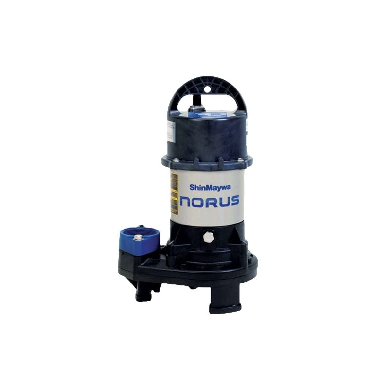 Norus Stainless Steel Submersible Pump, 1/5 Horsep