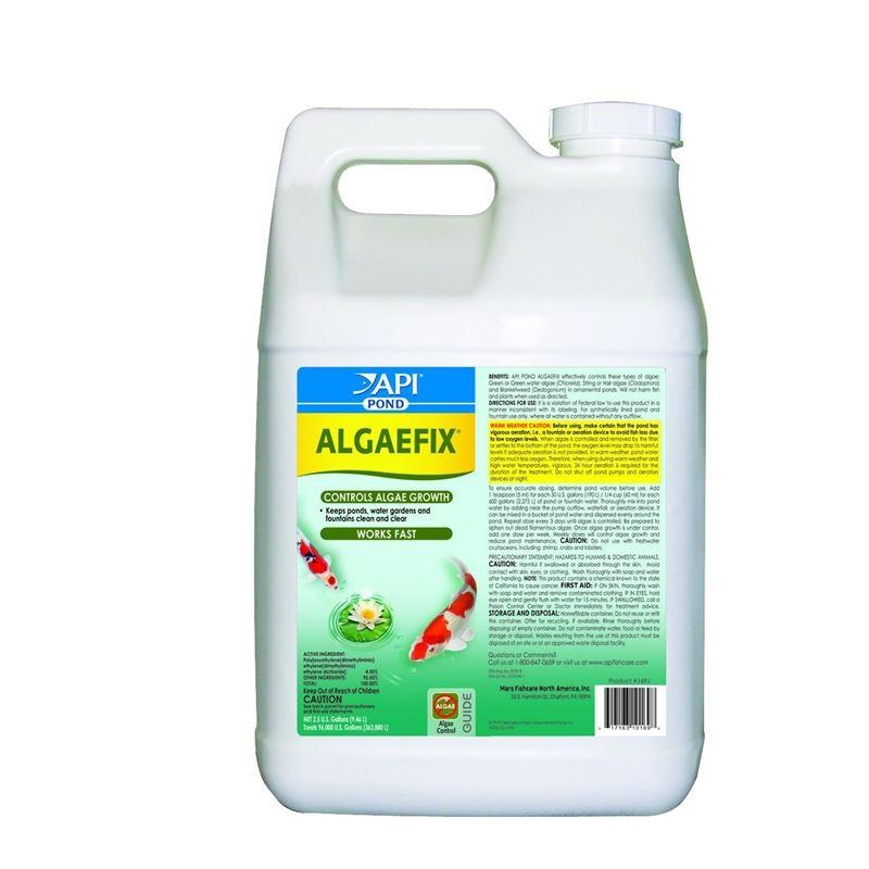 API Pondcare Algaefix Algae Control, 2.5-Gallon