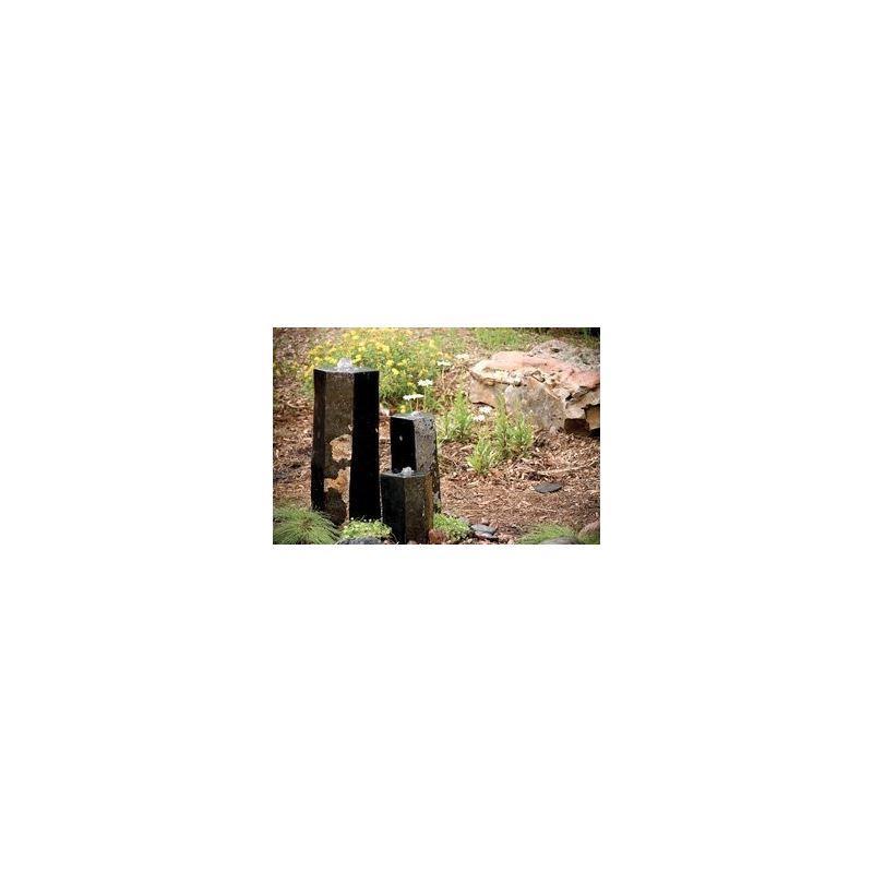 98264 3 Semi-Polished Stone Basalt Columns Sm 12 A