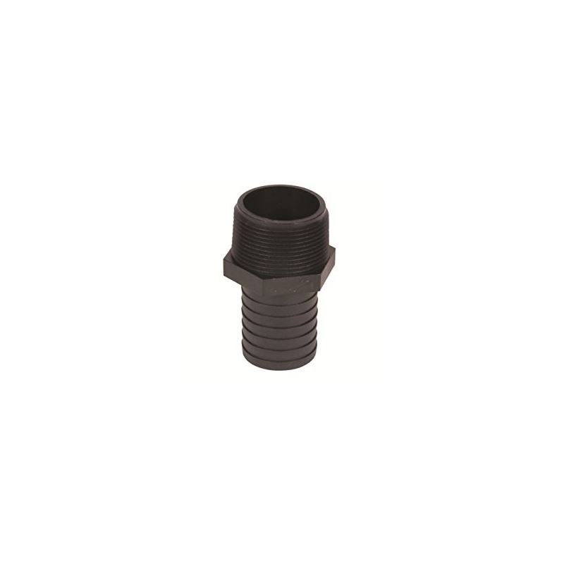 99155 Barbed Male Hose Adapter 1.25 And To 1.25 An