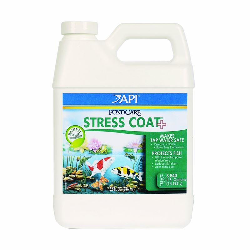 API Pondcare Stress Coat Pond Water Conditioner, 3