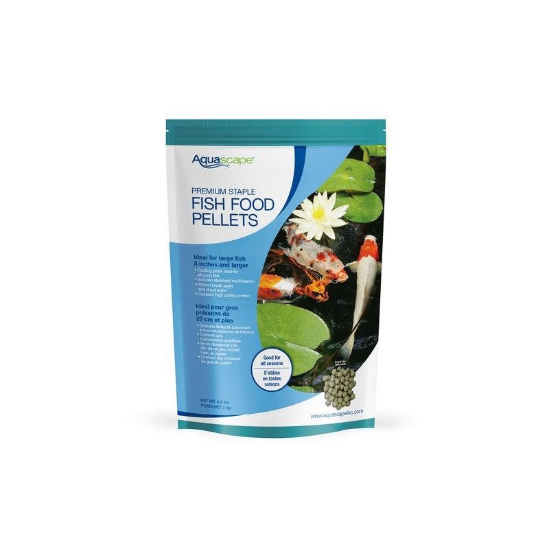 Premium Staple Fish Food Pellets 2 kg / 4.4 lbs