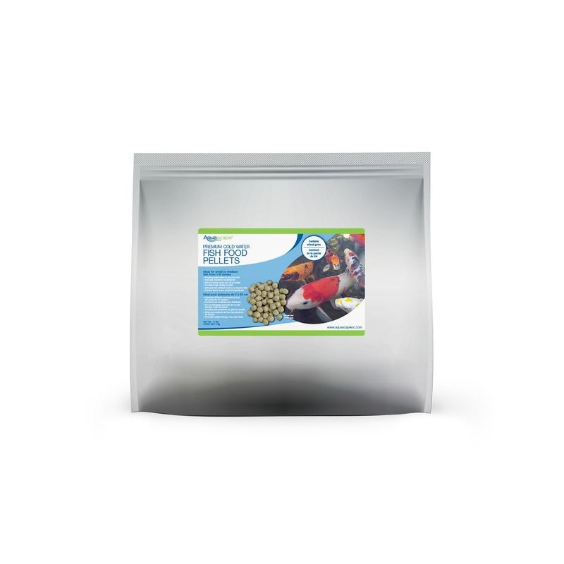 Premium Cold Water Fish Food Pellets - 5 Kg / 11 l