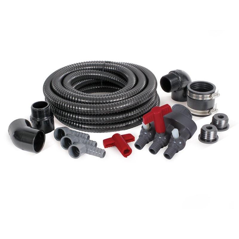 3-Way Fountain Basin Plumbing Kit