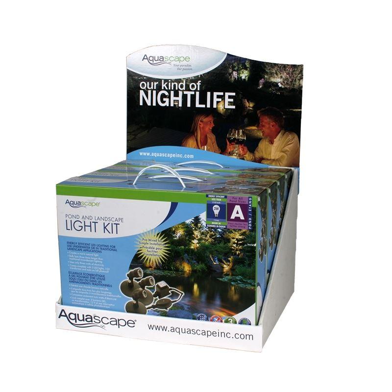 Aquascape 84040 LED Pond  Landscape Kit Display (I
