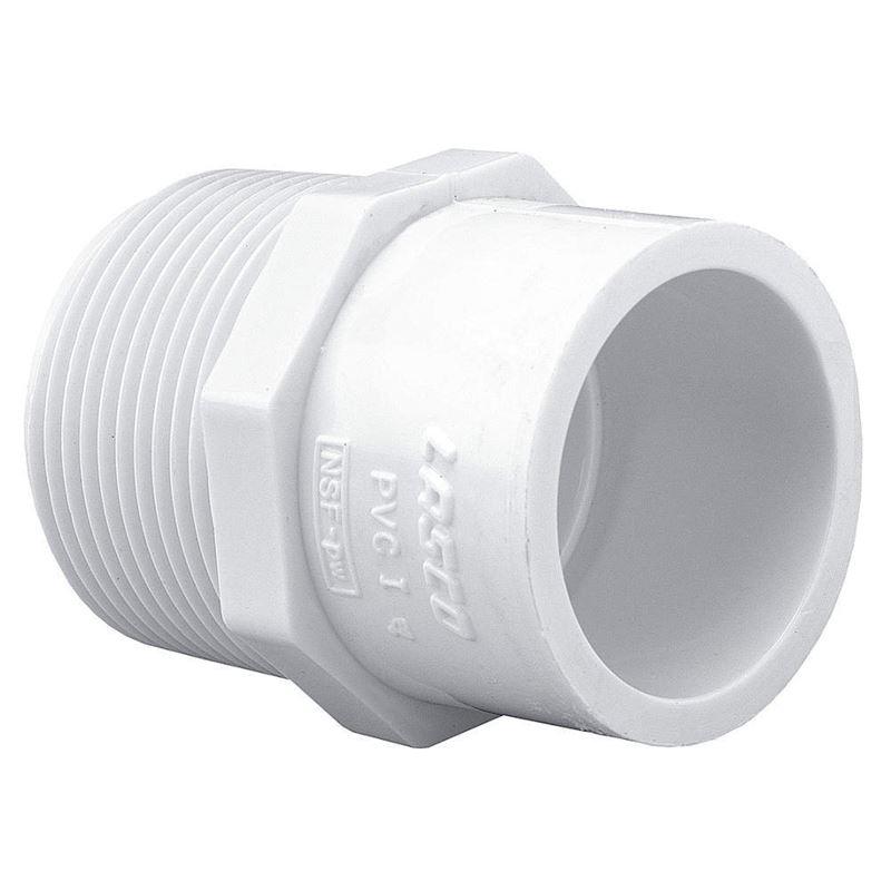 Schedule 40 PVC Pipe Mipt x Slip Reducing Male Ada