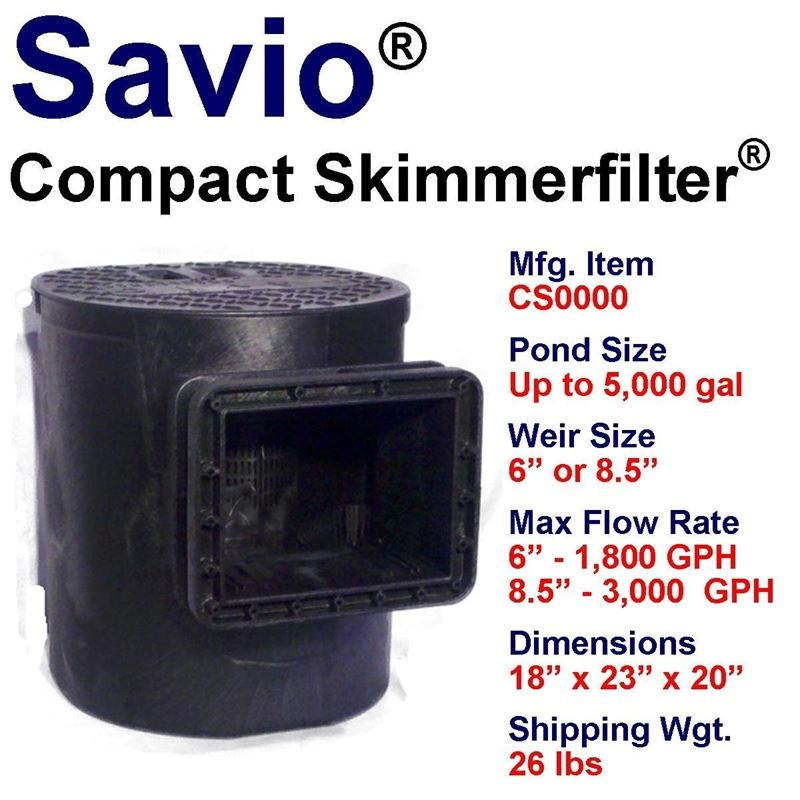 Compact Skimmerfilter Base Unit, Ponds up to 700 G