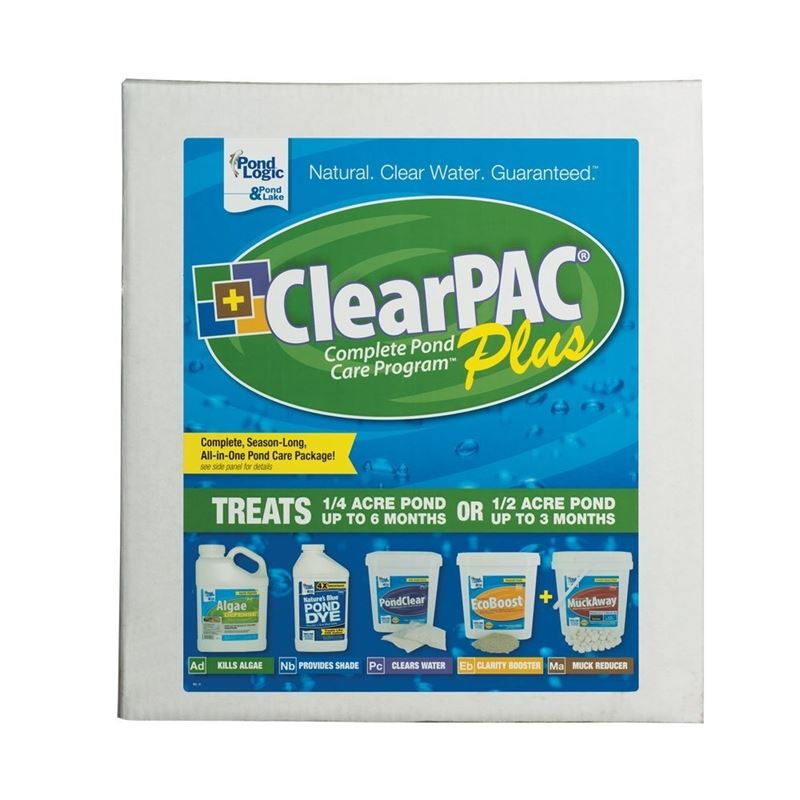ClearPAC Plus Muck Away, 6 mon