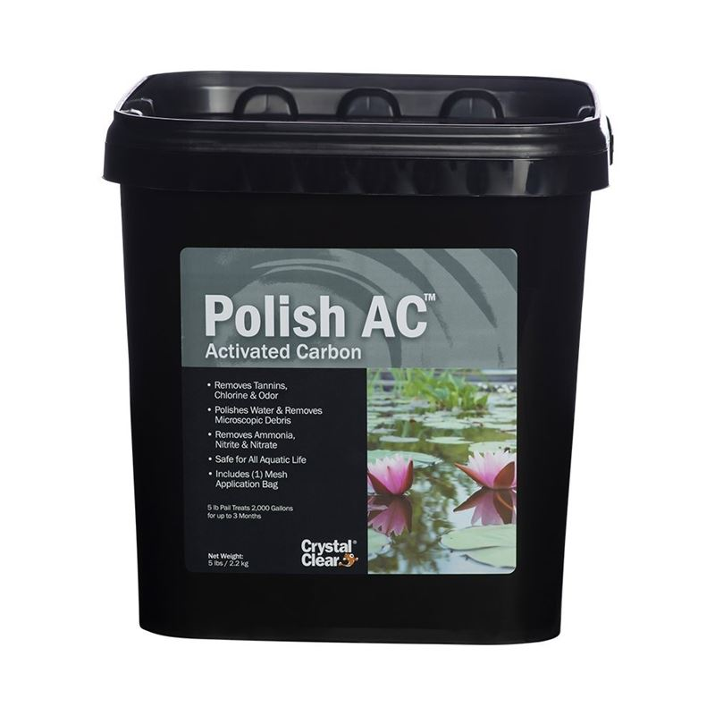 Polish AC, Activated Carbon, 5 lbs