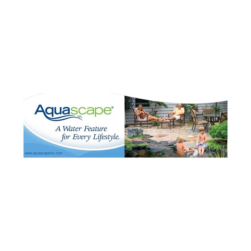 Sign - Aquascape Header Sign 2013
