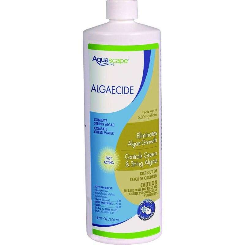 Algaecide for Pond, Waterfall, and Water Features,