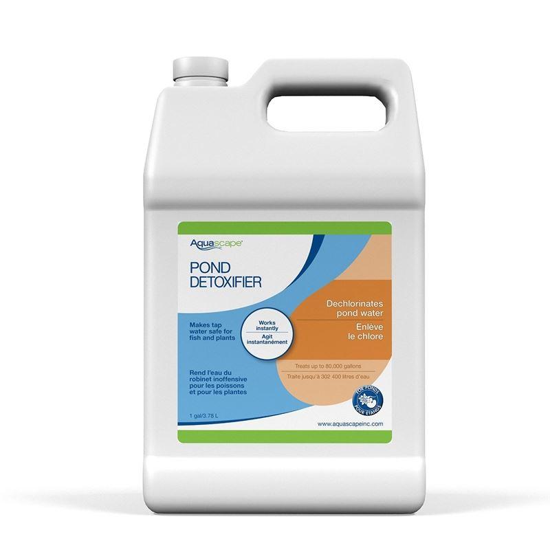 Pond Detoxifier Water Treatment, 1-Gallon Bottle