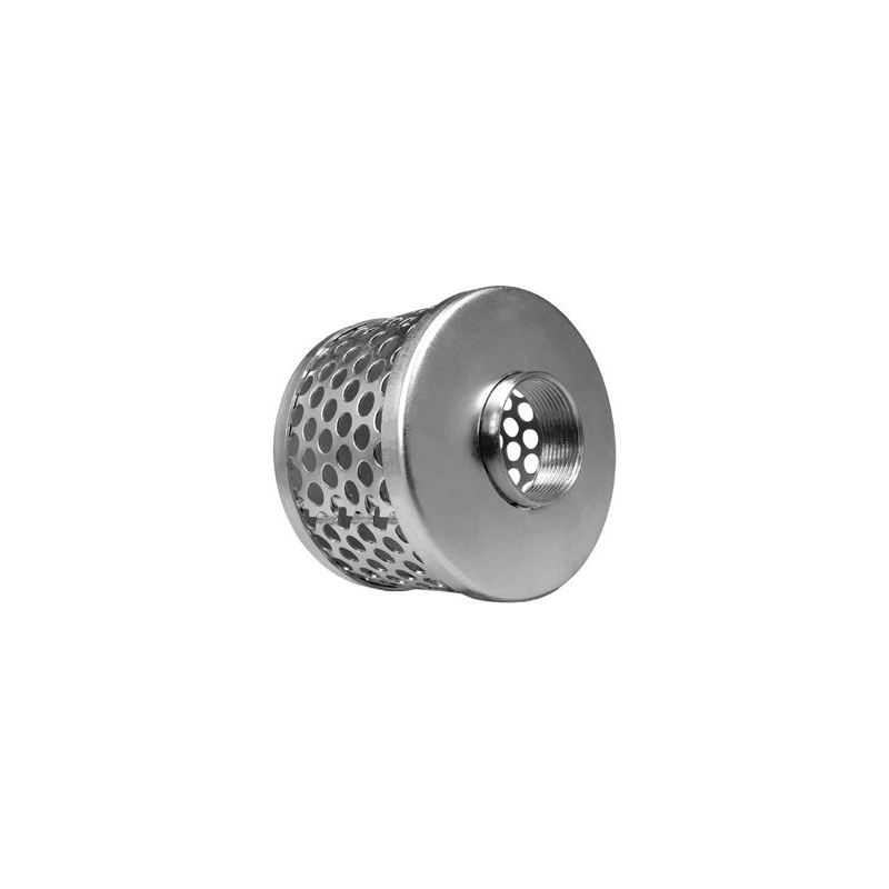 "1 1/2"" Stainless Steel Basket Suction Strainer"